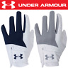 UNDER ARMOUR 2019 MEDAL ALL WEATHER SYNTHETIC MENS GOLF GLOVE / TWIN PACK !!!!!!