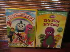 Here Comes Spring / Barney Its Hot Its Cold Childrens DVDs (NEW)