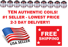 TEN (10) AUTHENTIC Uwell Valyrian Tank Coils 0.15 Ohm USA STOCK 2-3 Day Delivery