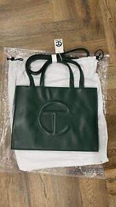 Brand New Telfar Dark Olive Medium Shopper Bag - FREE SHIPPING