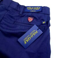 Polo Ralph Lauren Classic Fit Mens Chino Stretch Performance Golf Shorts Blue