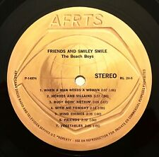 THE BEACH BOYS Friends And Smiley Smile RARE ARMED FORCES RADIO LP AFRTS 1974
