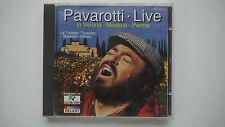Pavarotti Live in Verona,Modena,Parma