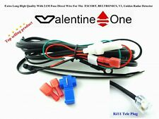 "1 Extra Long 9'3"" Direct Wire Uniden, Escort, Bel, Valentine V1Radar Detector"