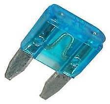 10 x Mini Blade Fuses 15A 15 Amp (11mm x 15mm) o/e spec fits ALFA ROMEO