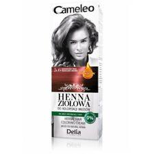 DELIA Cameleo Herbes Cheveux Coloration Crème 5.6 Acajou Marron 75gr