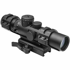 NcSTAR VISM XRS Series 2-7x32 Illuminated Compact Mil Dot Reticle Rifle Scope