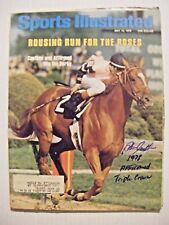 STEVE CAUTHEN signed TRIPLE CROWN AFFIRMED 1978 Sports Illustrated magazine AUTO