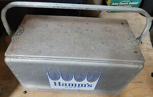 Vintage Hamm's Beer Cooler 20X10X13
