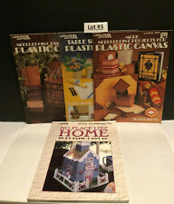 4~Leisure Arts~No Place Like Home, Needlepoint Project, Table Settings & Other