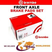 BREMBO Front Axle BRAKE PADS SET for PORSCHE CAYENNE Turbo S 4.8 2007-2010