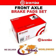 BREMBO Front BRAKE PADS SET for IVECO DAILY Chassis 35S9, 35C9 1999-2006