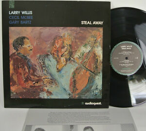 LARRY WILLIS - STEAL AWAY LP - AUDIOQUEST 180-GRAM - AUDIOPHILE - WITH INSERT
