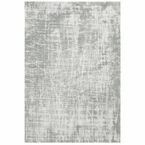 Modern Cotton Rug Runner Grey MACHINE WASHABLE Small Large Extra Large NEW