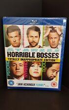 Blu Ray HORRIBLE BOSSES. Jason Bateman. Brand new sealed.