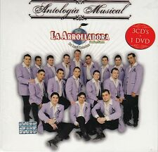 La Arrolladora De Rene Camacho Banda El Limon Antologia Musical 3CD+1DVD New