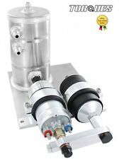 Bosch 044 Fuel Pump With Bosch Fuel Filter Swirl Surge Tank Assembly In Silver