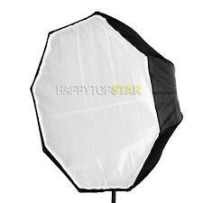 "Pro Photo Video 80cm / 31.5"" Octagonal Umbrella Flash Softbox Brolly Reflector"