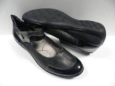 Chaussures SONATE socoa noir FEMME taille 41 ville cuir shoes black woman NEUF
