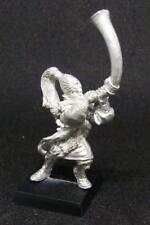 Citadel Miniatures Warhammer elfo noble Blanco Leones De CHRACE Soplador De Cuerno