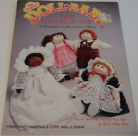 THE ORIGINAL DOLL BABY EASY FASHIONS TO SEW 8 OUTFITS FULL-SIZE PATTERNS BOOKLET