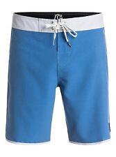 "Quiksilver OG Texture 19"" Blue Swimwear Boardshorts Sz 32"