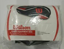 Wilson Classic Tennis Racket Equipment Bag Adjustable Padded Shoulder Strap New