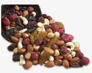 Mixed Dried Fruit & Nut Mix Healthy Free UK P&P Grade 1 500g 1KG