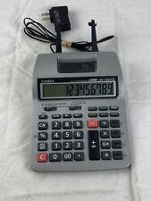 Casio HR-100TM Tax & Exchange Printing Calculator - Grey - No AC Adapter