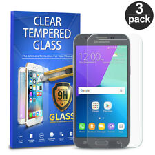 For Samsung Galaxy J3 Eclipse Mission 3-PACK Tempered Glass Screen Protector