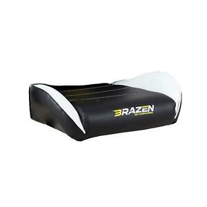 BraZen Phantom Elite PC Gaming Chair - Replacement Seat Base – White