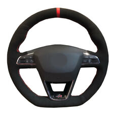 DIY Car Steering Wheel Cover For Seat Leon Ibiza FR|Cupra Alhambra FR Line Ateca