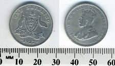Australia 1927 (m) - 1 Shilling Silver Coin - King George V