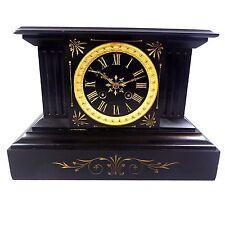 Kaminuhr, stupendo orologio da tavolo, buffetuhr, marmo, Napoleone 3, pendule, odo, clock 5