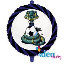 PALLONCINO MYLAR INTER 45 cm addobbi eventi Festa Party squadre calcio sport