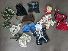 Build a Bear lot of outfits, clothes, and accessories Lot 3