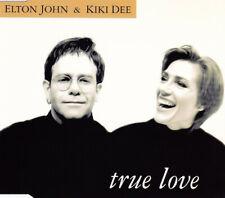 "ELTON JOHN & KIKI DEE -""True Love""-Rare German CD Single 1993-George Michael-NEW"