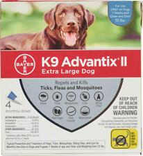 K9 Advantix Ii: Cães Extra Grande (azul), 4 Dose, contagem de 12