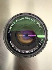 SMC-Pentax-M Asahi f/1:2 50 mm