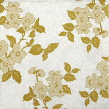 4x Paper Napkins for Decoupage Decopatch Craft - Flower & Lance