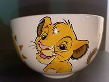 BOL PORTRAIT SIMBA Disneyland Paris Bowl Disney Roi Lion Lion King