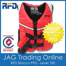 RFD SIROCCO FEM ADULT M-L 40-60KG PFD LIFE JACKET 100N Level 100 Lifejacket/Vest