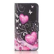 Estilo #4 Estuche Funda Billetera de Cuero Para Samsung Galaxy J7 PRIME G610