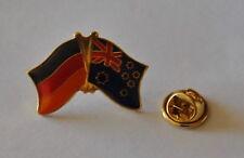 FREUNDSCHAFTSPIN PIN ANSTECKER DEUTSCHLAND / AUSTRALIEN FAHNE METALL PINS NEU A3