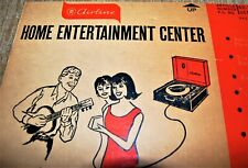 45 RPM RECORD PLAYER ADVERTISING.1950'S MONTGOMERY WARD AIRLINE BOX END. 20