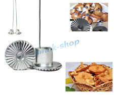 METAL 3D MUSHROOM MOLD FORM FORMS FOR SWEET BRUSHWOOD PASTRY COOKIES