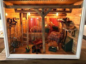 American Girl AG Minis Illuma Room Horse Stable Decor Horses & Accessories mini