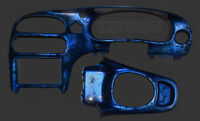 Airbrushed dash (candy blue marble) for vt vx commodore