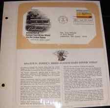 1974 Kansas Hard Winter Wheat First Day Cover by Postal Commemorative Society