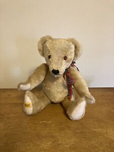 Vintage MERRYTHOUGHT Bear Limited Edition Ironbridge Shop Mohair England 16in
